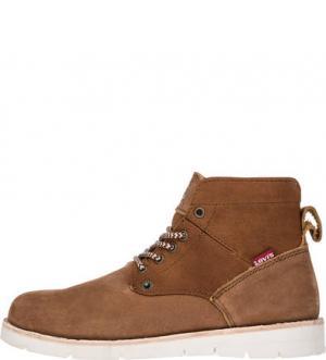 Коричневые ботинки из нубука Lady Jax Levi's®