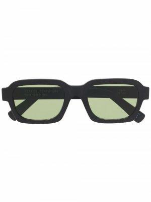 Солнцезащитные очки Caro в квадратной оправе Retrosuperfuture. Цвет: черный