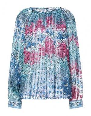 Блузка LEONARD Paris. Цвет: бирюзовый