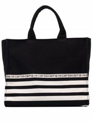 Logo-print tote bag 10 CORSO COMO. Цвет: черный