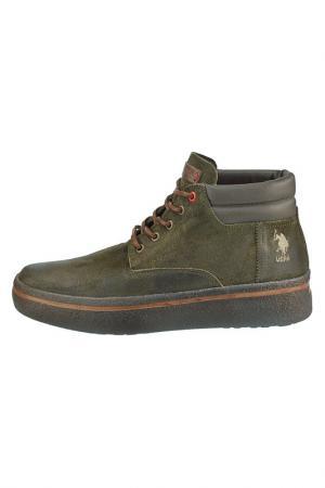 Boots U.S. Polo Assn.. Цвет: green