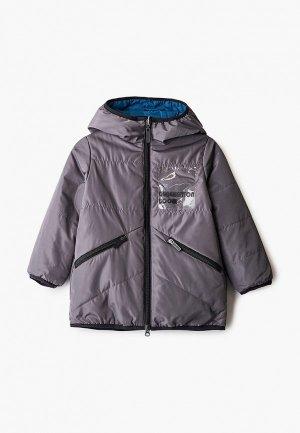 Куртка утепленная Boom. Цвет: разноцветный