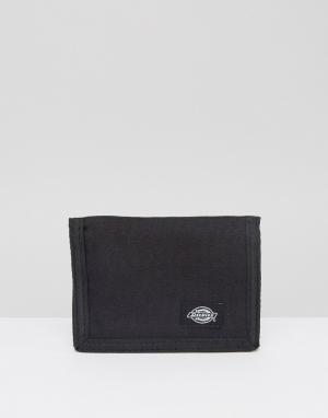 Бумажник Crescent Bay Dickies. Цвет: черный