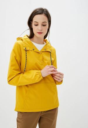 Ветровка Vans. Цвет: желтый