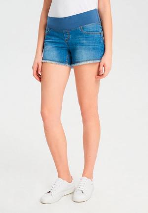 Шорты джинсовые BuduMamoy. Цвет: синий
