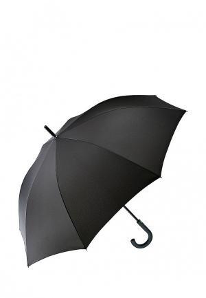 Зонт-трость Fulton. Цвет: черный