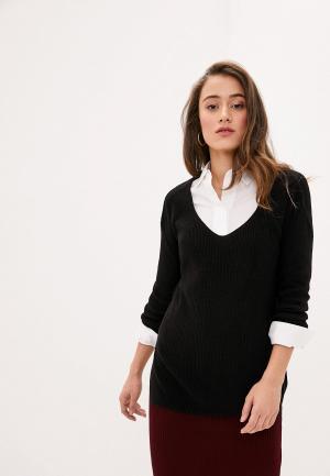 Пуловер Koton. Цвет: черный