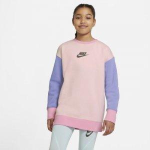 Свитшот для девочек школьного возраста Nike Sportswear - Оранжевый