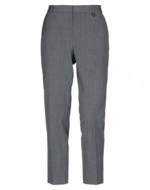 Повседневные брюки AQUASCUTUM. Цвет: серый