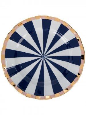 Десертная тарелка Fortuna Bitossi Home. Цвет: белый
