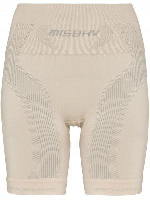 Спортивные компрессионные шорты Misbhv. Цвет: нейтральные цвета
