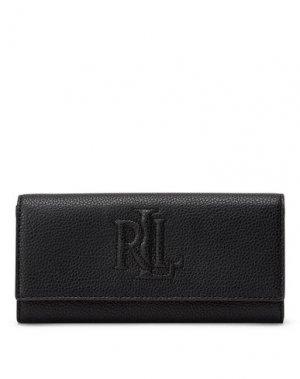 Бумажник LAUREN RALPH. Цвет: черный