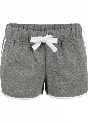 Пляжные шорты bonprix. Цвет: серый