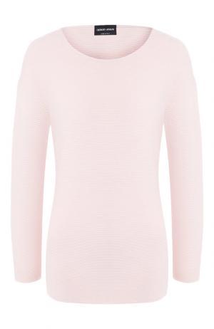 Пуловер Giorgio Armani. Цвет: светло-розовый