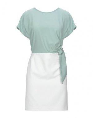 Короткое платье ANNARITA N. Цвет: светло-зеленый