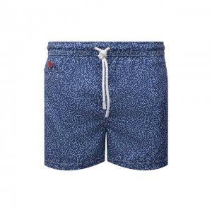 Плавки-шорты Kiton. Цвет: синий