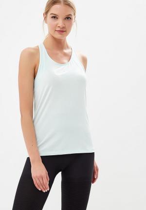 Майка спортивная Nike Womens Pro Tank. Цвет: бирюзовый