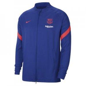 Мужской футбольный костюм из тканого материала FC Barcelona Strike - Синий Nike