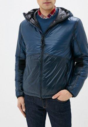 Куртка утепленная C.P. Company. Цвет: серебряный