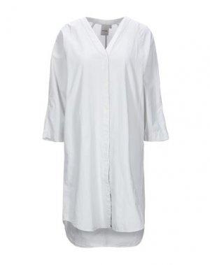Короткое платье ELVINE. Цвет: светло-серый