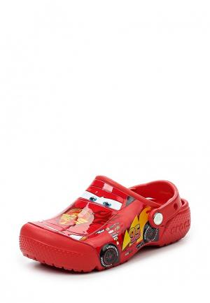 Сабо Crocs Fun Lab Cars 3 Movie Clog. Цвет: красный