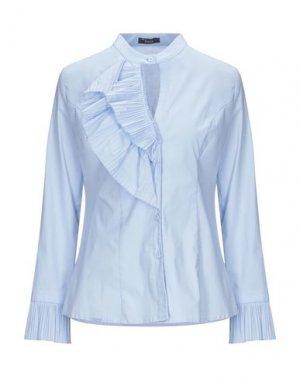 Pубашка HANITA. Цвет: небесно-голубой