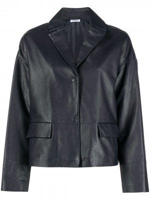 Куртка на пуговицах P.A.R.O.S.H.. Цвет: синий