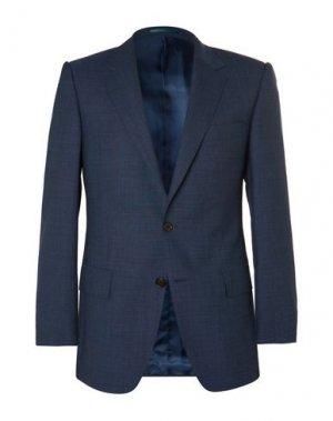 Пиджак GIEVES & HAWKES. Цвет: синий