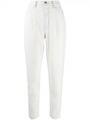 High-waisted tapered jeans J Brand. Цвет: белый