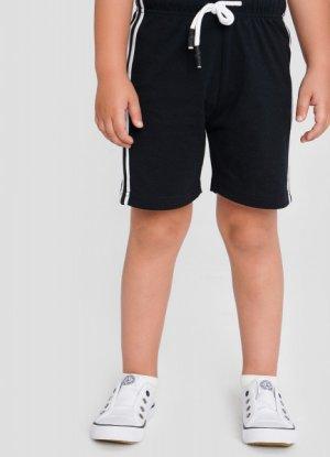 Трикотажные шорты длямальчиков O`Stin. Цвет: черно-синий