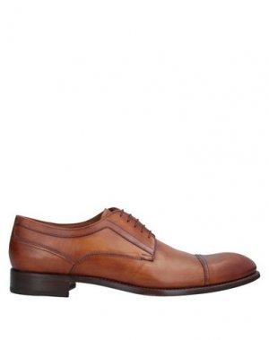 Обувь на шнурках CAMPANILE. Цвет: желто-коричневый