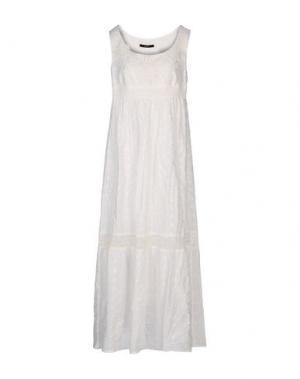 Длинное платье G.SEL. Цвет: белый