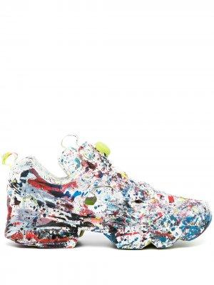 Кроссовки Masterpiece Instapump из коллаборации с Reebok VETEMENTS. Цвет: multicolor