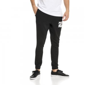Штаны Rebel Bold Pants PUMA. Цвет: черный