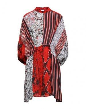 Короткое платье LALA BERLIN. Цвет: красный