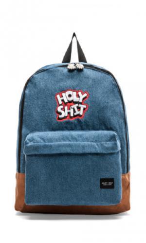 Рюкзак Lazy Oaf. Цвет: синий