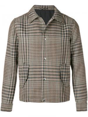 Пиджак на кнопках AMI Paris. Цвет: черный