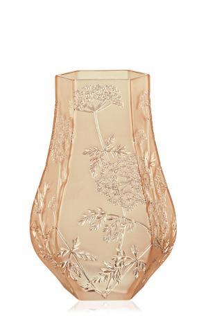 Ваза Ombelles Lalique. Цвет: золотой