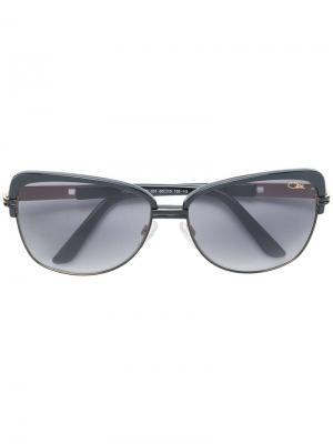 Солнцезащитные очки кошачий глаз Cazal. Цвет: черный
