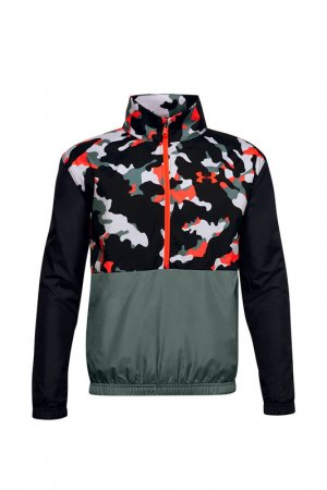 Джемпер UA Mesh Lined Jacket Under Armour. Цвет: разноцветный
