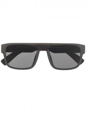 Солнцезащитные очки Mylon с затемненными линзами Mykita. Цвет: зеленый