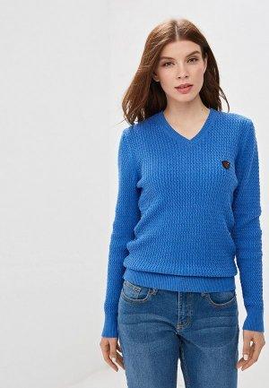 Пуловер Jimmy Sanders. Цвет: синий