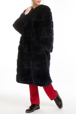 Fur coat Manakas Frankfurt. Цвет: navy