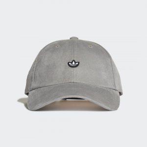Замшевая кепка Adicolor Premium Essentials Originals adidas. Цвет: серый