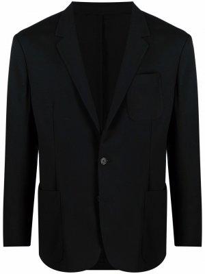 Пиджак с узкими лацканами PAUL SMITH. Цвет: черный