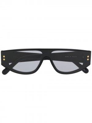 Солнцезащитные очки Star Stella McCartney Eyewear. Цвет: черный