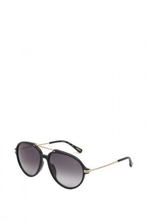Очки солнцезащитные Dunhill. Цвет: золотой
