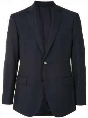 Durban костюм узкого кроя с однобортным пиджаком D'urban. Цвет: черный