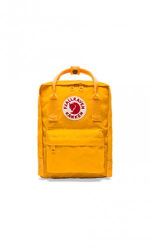 Рюкзак kanken Fjallraven. Цвет: желтый