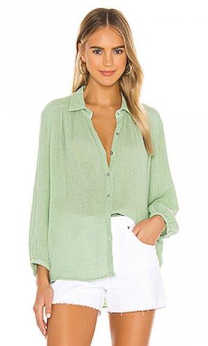 Рубашка carrie Michael Stars. Цвет: зеленый